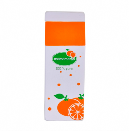 Mamamemo Wooden Play Food - Orange Juice
